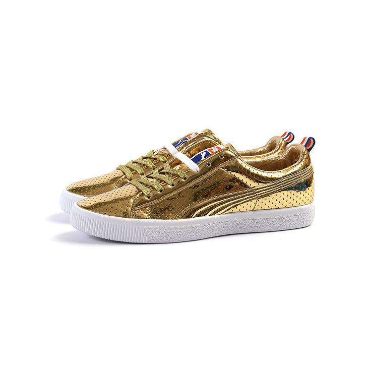 puma sneaker gold