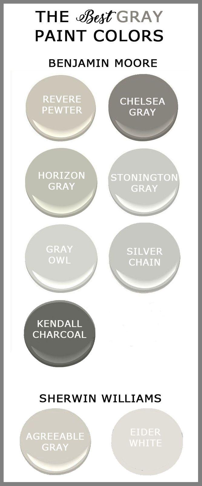 25 best ideas about best gray paint on pinterest gray paint colors warm gray paint colors. Black Bedroom Furniture Sets. Home Design Ideas