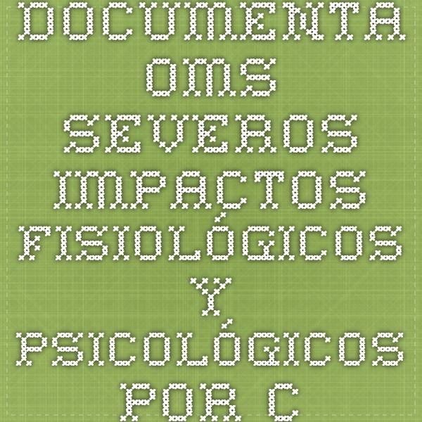 Documenta OMS severos impactos fisiológicos y psicológicos por contaminación auditiva