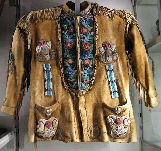 Man S Hide Jacket The Floral Designs Stems Feature