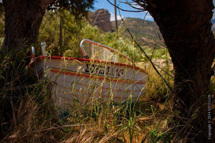Souzi...the abandoned boat ! by Pantelis Sfirakis on 500px  #AgiaFotiaSeaside #AgiaFotia #Ierapetra #Crete #Greece #Boat #Beach #Bay #Gulf #Souzi #IncredibleCrete #IncredibleIerapetra