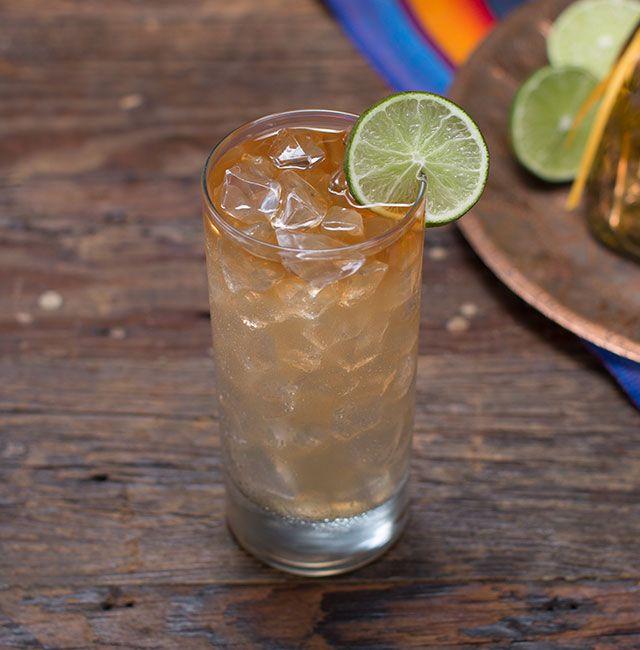 Enjoy Mile High Margarita, a cocktail made with Patrón Añejo.