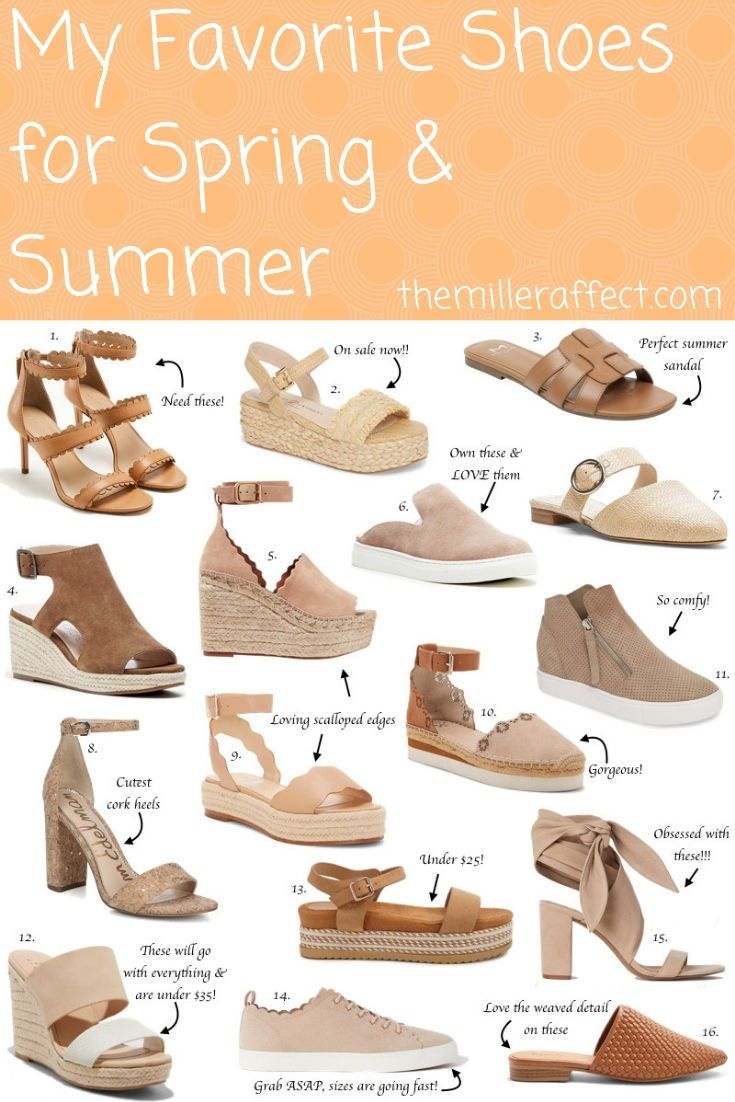 e6f8f062b364 Some of my favorite neutral shoes for this spring   summer!
