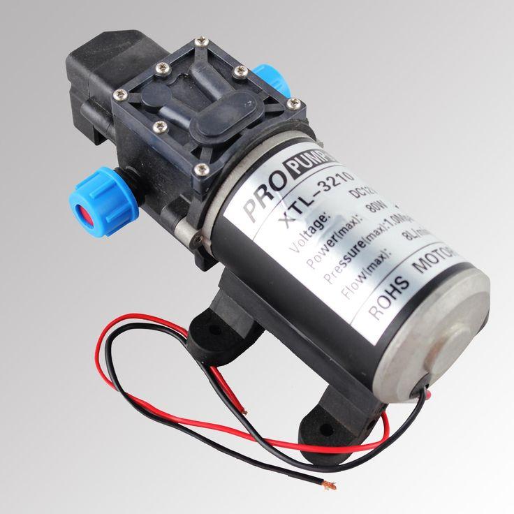 Bomba de agua 80w 12v dc presostato control presion barcos - Bombas de agua ...