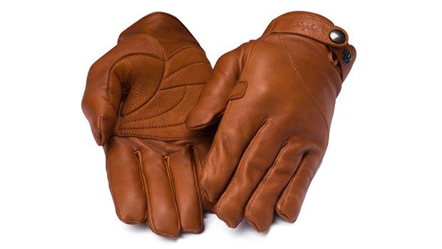Leather Town Gloves for city cyclists | Rapha