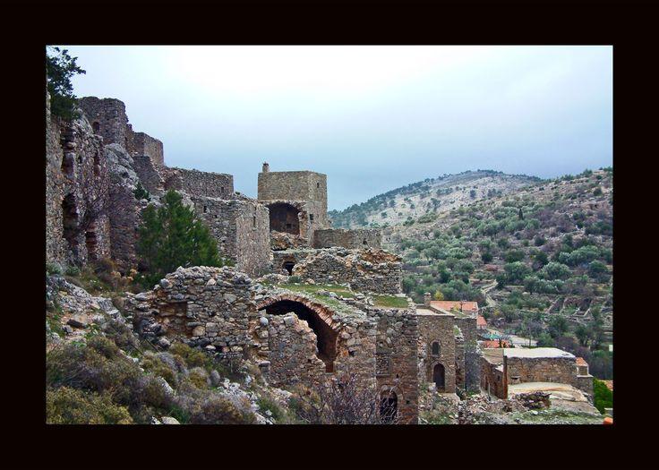 Chios adası Anavatos köyü