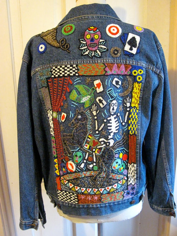 58 Best Bedazzled Images On Pinterest Denim Jackets