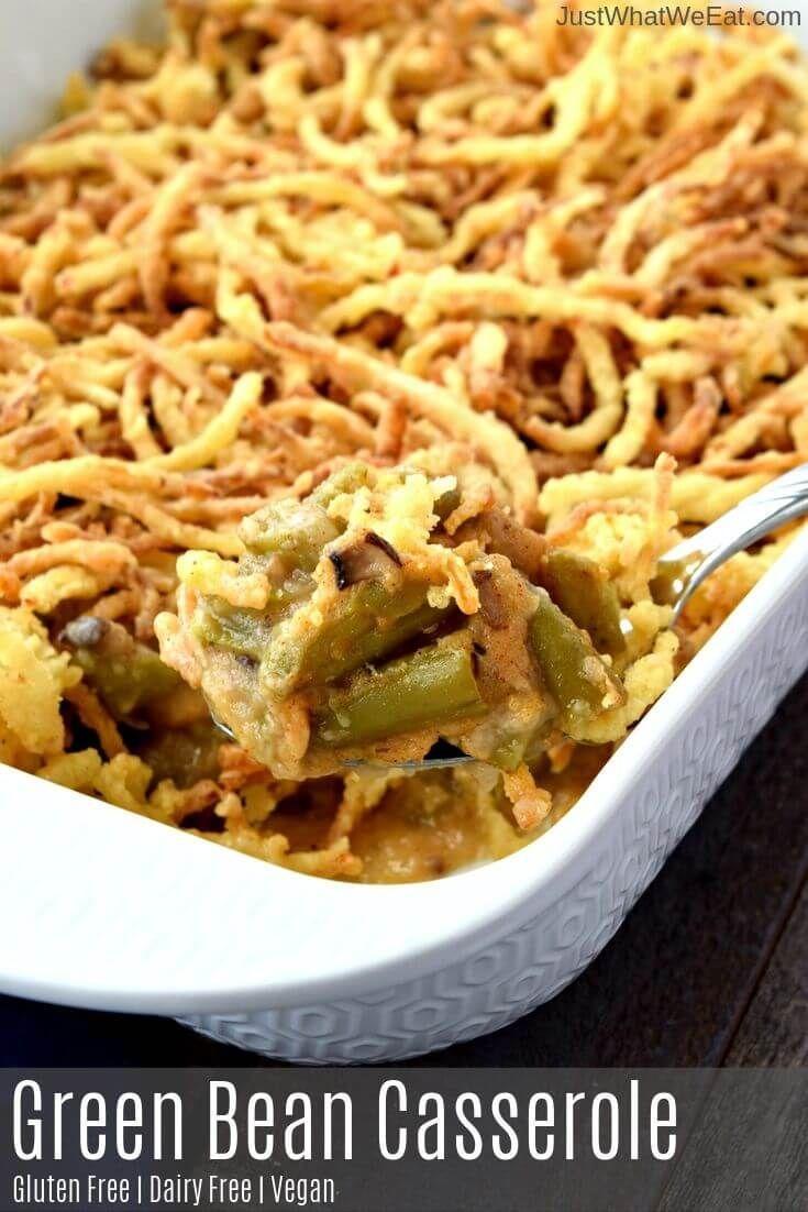 Green Bean Casserole Gluten Free Vegan