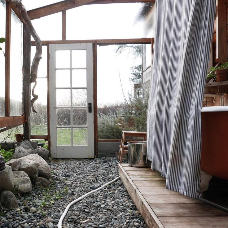 outdoor bathtub • photo by lissa snapp