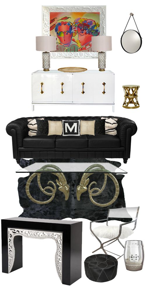 Life's Little JemsCeci N These, Decor Ideas, N These Pas, Mood Boards, Black And White, Mon Style, Fireplaces Hearth, Bohemian Style, Hearth Style