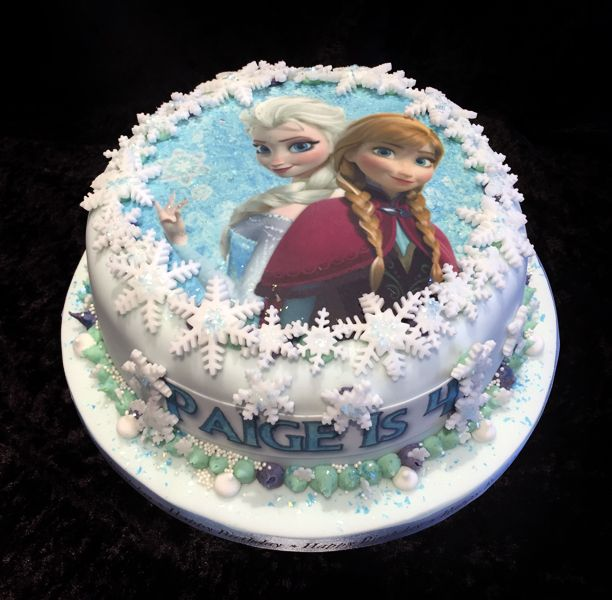 356 best Anna And Elsa Cakes images on Pinterest Frozen party