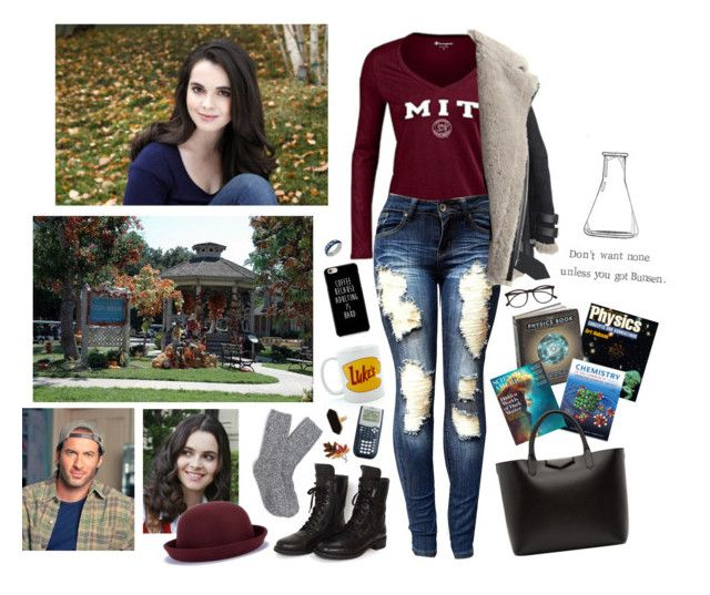 """""""Gilmore Girls - April Nardini"""" by ohhmyguinness ❤ liked on Polyvore featuring art"""