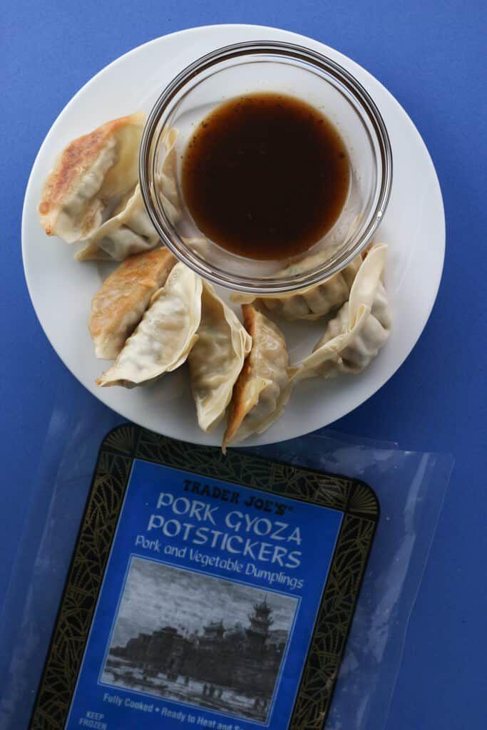 Trader Joe S Pork Gyoza Potstickers Potstickers Trader Joes Trader Joes Appetizers