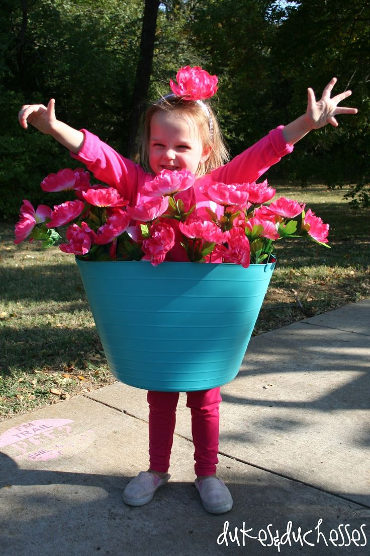 A Flower Pot Costume