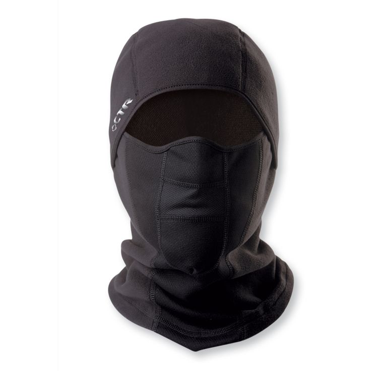 $15 Stretch Micro Fleece Junior's Multi Tasker Pro Black Balaclava | Overstock.com