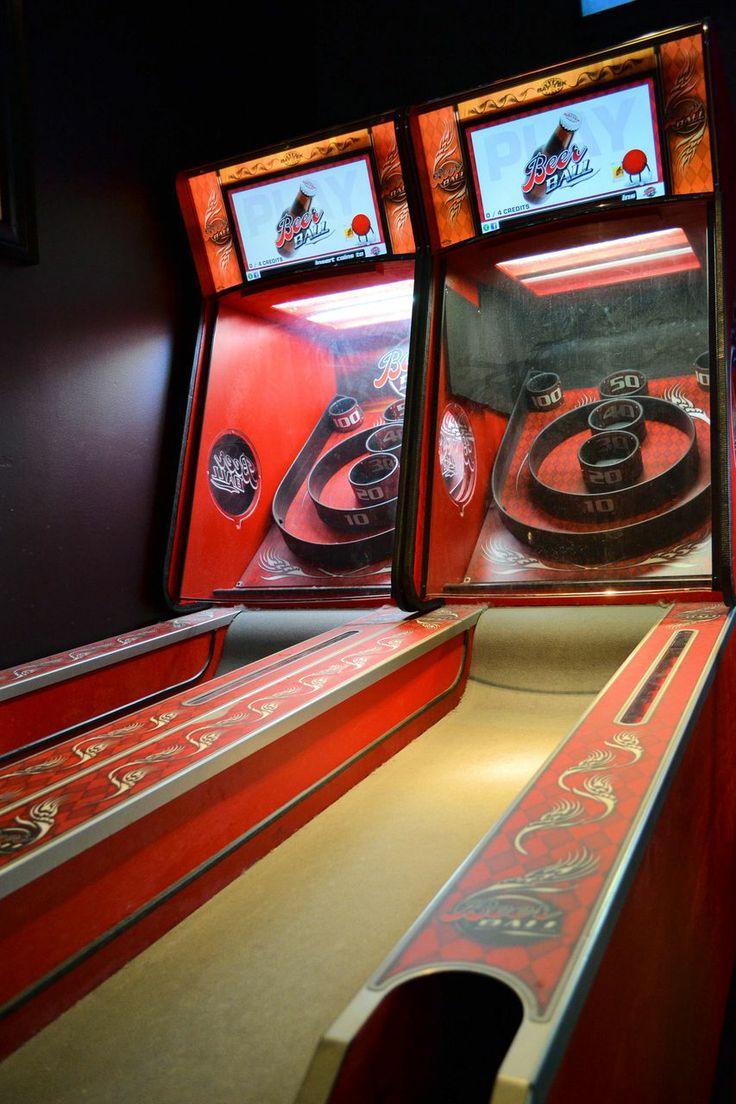 skee ball games Skee ball, Game room, Arcade