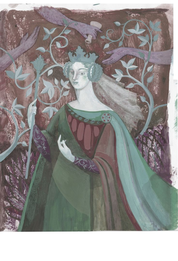 First Crowned Queen of England AElfthryth modernised to Elfrida for History Magazine