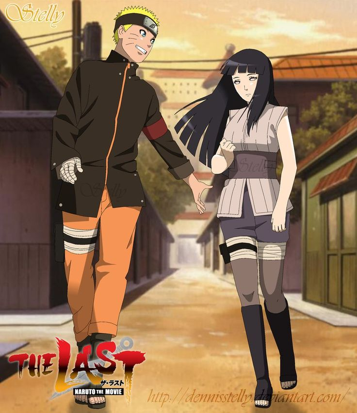 The Last: Naruto The Movie / Naruto Shippuden: Naruto and Hinata