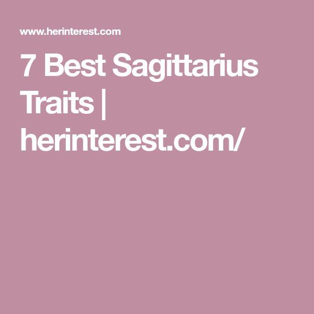 7 Best Sagittarius Traits | herinterest.com/