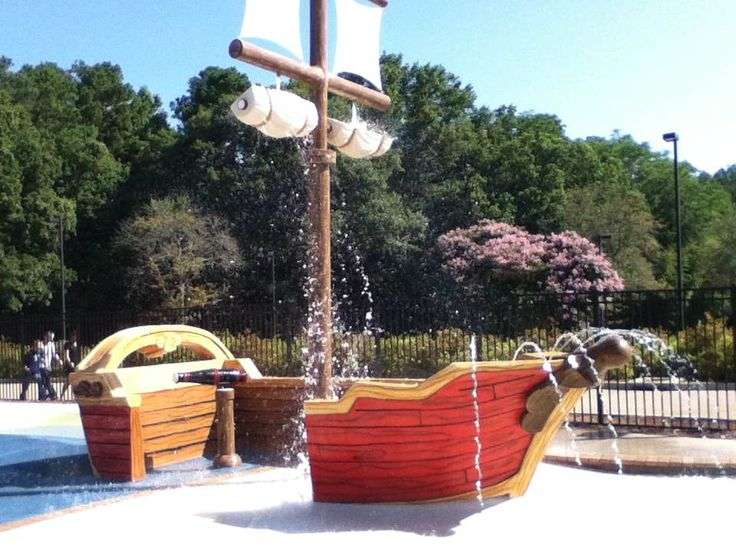 Splash Park at the Williamsburg Woodlands Hotel: From water cannons and slides to mini waterfalls and pirate pool parties- you won't want to miss our new splash park.