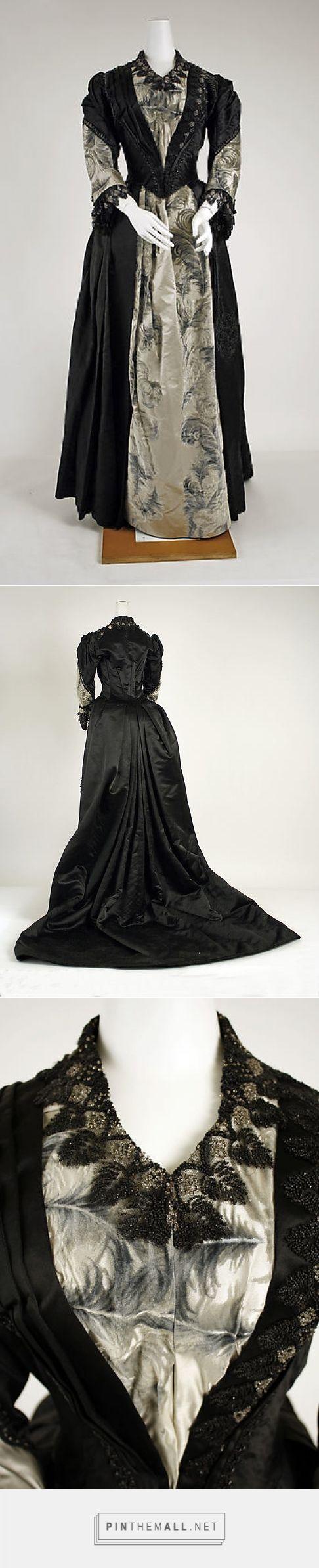 Evening dress 1885-89 American | The Metropolitan Museum of Art