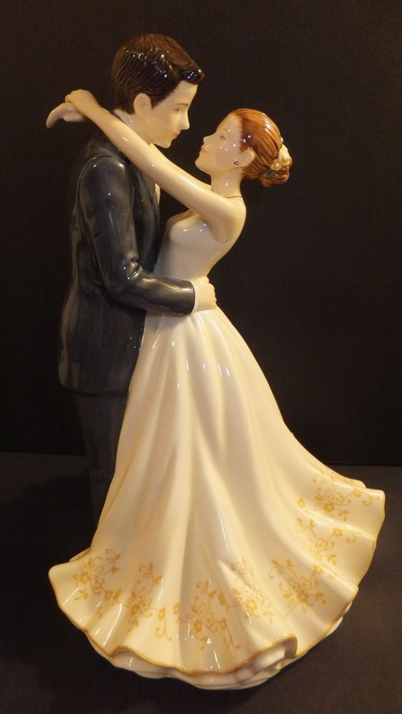 wedding figurines for cakes royal doulton occasions forever figurine cake topper 9457