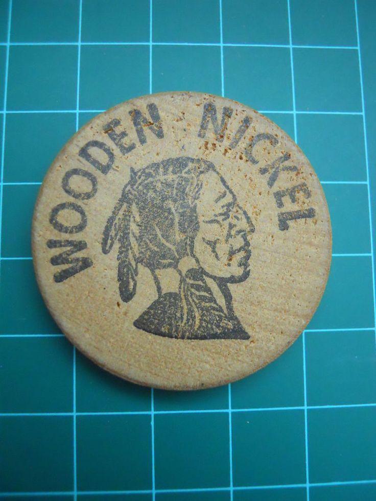 Wooden Nickle Token