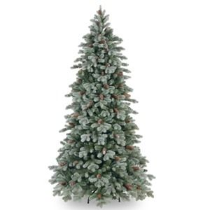 National Tree Co. Frosted Caldwell Artificial Christmas Tree-Slim