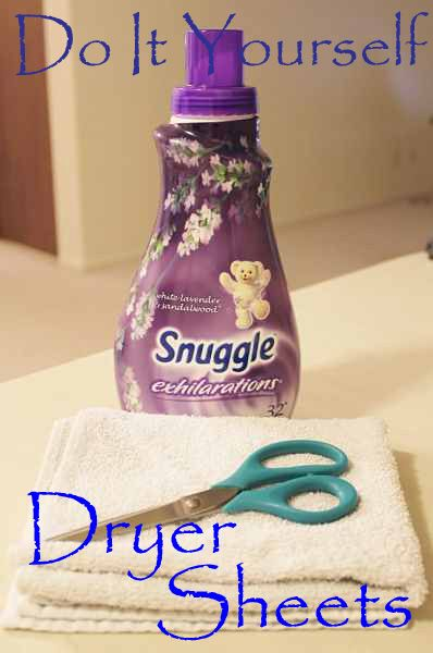 1000 ideas about dryer sheet uses on pinterest saw dust fabric softener sheets and unclog sink - How to make your own fabric softener ...