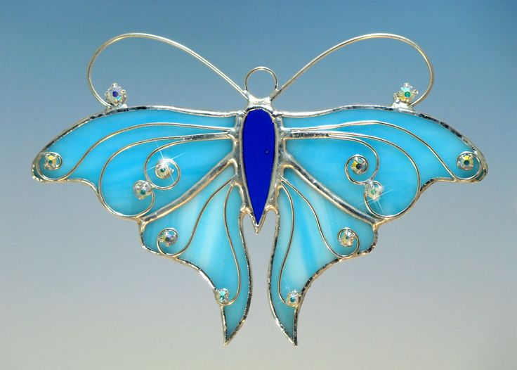 This is a butterfly suncatcher...but I love the wire work.