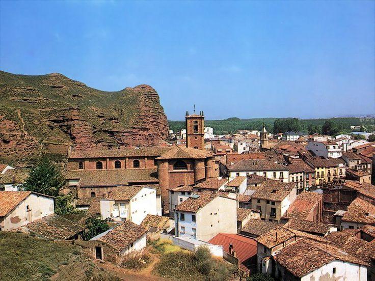 Vista de Nájera, La Rioja, Camino de Santiago