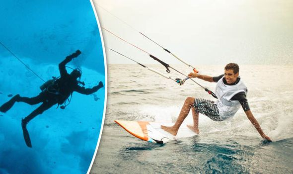 Would YOU brave this while on holiday? Most EXTREME water sports revealed