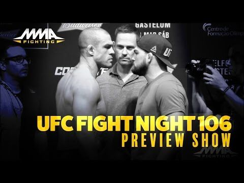 UFC Fight Night 106 Preview Show With Demian Maia