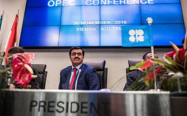 FTSE 100 rises and oil breaks $50 barrier as Opec signals bigger-than-expected output cut http://www.telegraph.co.uk/business/2016/11/30/ftse-100-rises-oil-jumps-opec-begins-debate-oil-cuts/