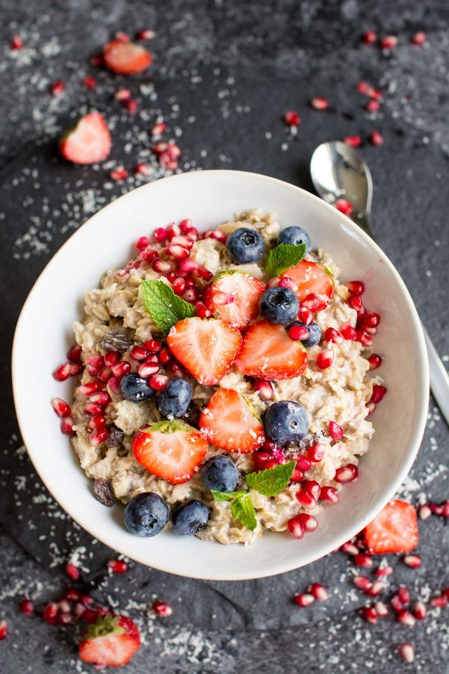 Vegan Bircher Muesli is a great, delicious and nutritious start to your day. Great for preparing in advance ready for the morning!