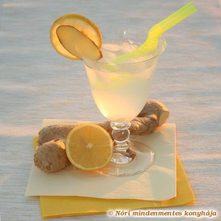 Gyömbérital citrommal
