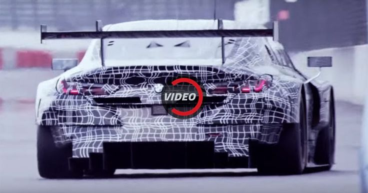 BMW M8 GTE Roars While Testing At Lausitzring #BMW #BMW_M8