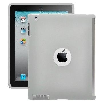 Color Shell (Grey) iPad 2 Cover