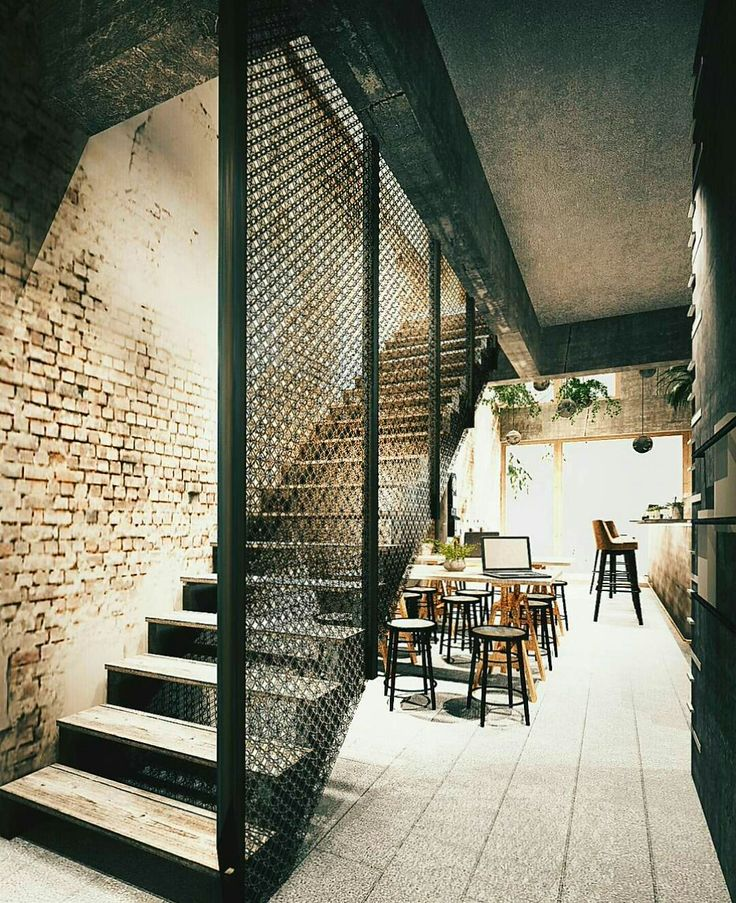 17 Best Ideas About Bar Under Stairs On Pinterest: 25+ Best Ideas About Industrial Cafe On Pinterest