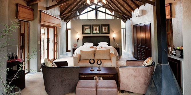 Black Rhino Game Lodge is located in the west side of the Malaria Free Pilanesberg National Park.
