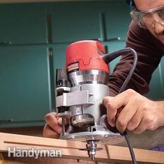 Advanced Router Techniques   The Family Handyman