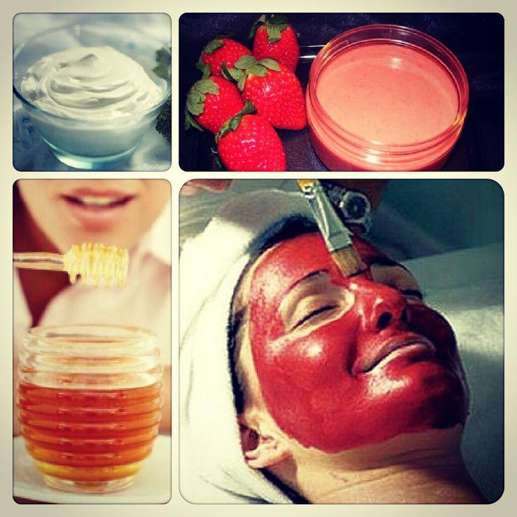 Mascarilla facial de fresa y miel - Rejuvenece tu piel de forma natural