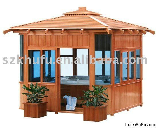 Another hot tub gazebo