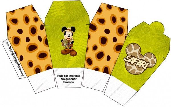 Caixa China in Box Mickey Safari