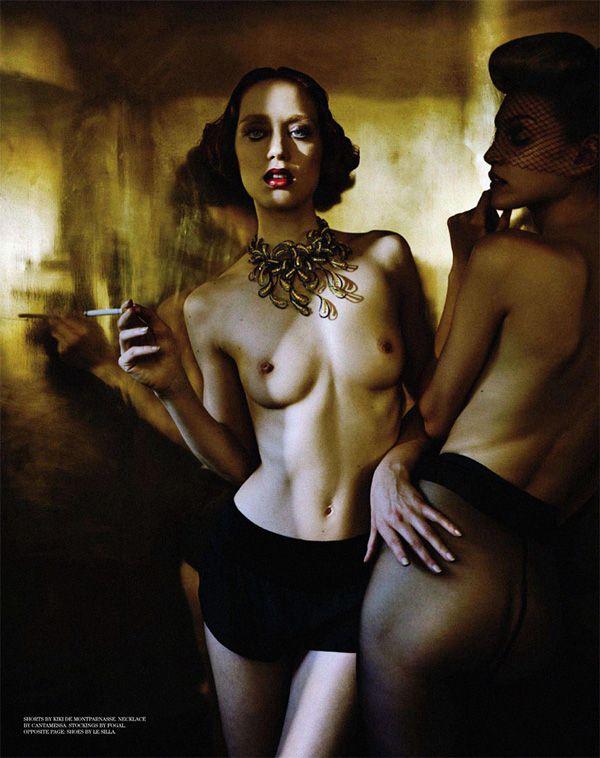 Steve Lyon   Filles De Nuit  Incredibly breathtaking photo series by Steve Lyon for Treats! Magazine. Love the film noir/burlesque look.