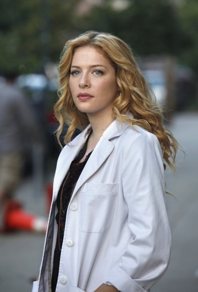 5:  Rachelle Lefevre in A Gifted Man maybe it's just the Dr. Coat, but there is something about this woman.  Victoria in Twilight