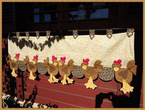 Bandô de galinhas...