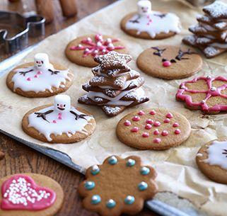Leckere Plätzchen mit weihnachtlichen Gewürzen, ideal zum Verzieren und Vernaschen.