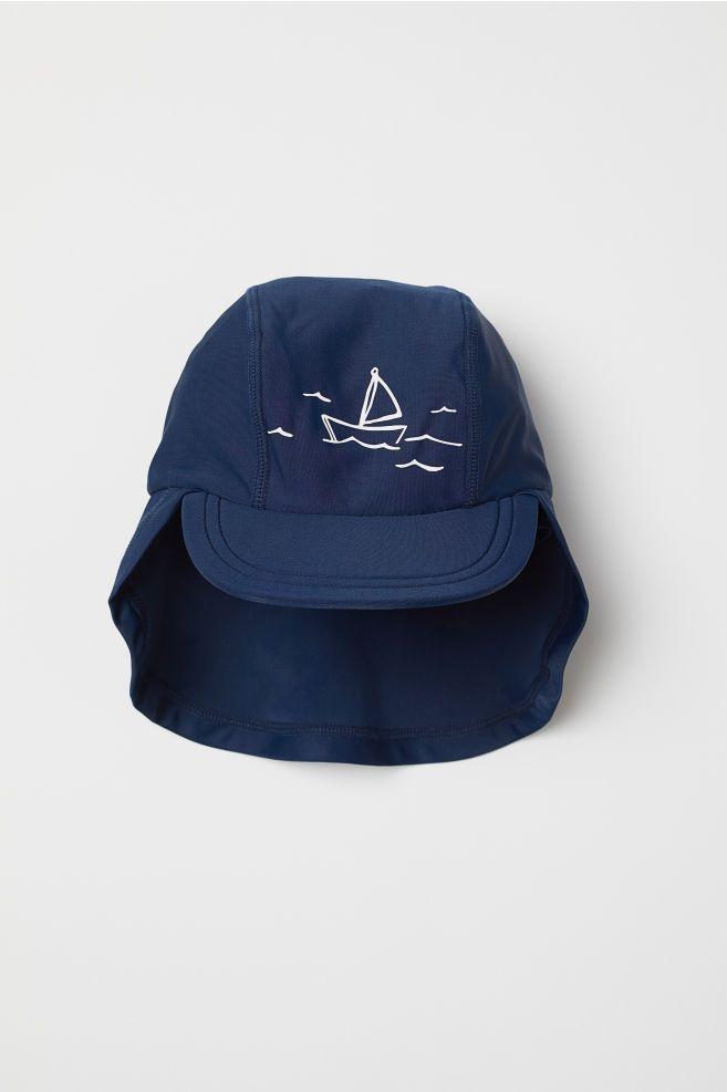 fead45cb H&M Sun Cap UPF 50 - Blue | New Baby | Sun cap, Cap, Baseball hats