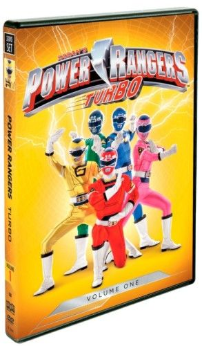 Power Rangers Turbo Vol 1 DVD US/CAN 4/24